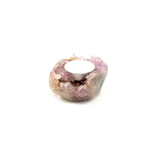 Amethyst Candle holder - illuminations Wellbeing Shop
