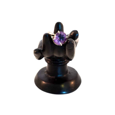Amethyst Silver Ring - illuminations Wellbeing Shop