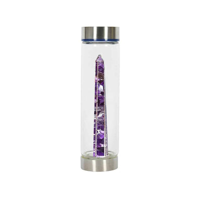 Crystal & Gemstone Water Bottles - Clarity - illuminations Wellbeing Shop
