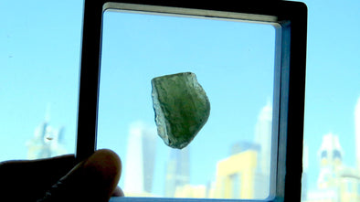Moldavite Raw Stone - illuminations Wellbeing Shop