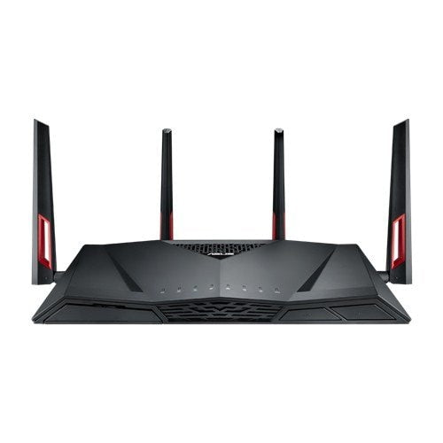 Asus RT-AC88U AC3100 Gaming Router | Wireless Dual Band Gigabit Router | AiProtection & AiMesh | MU-MIMO - Mukhtar Networking