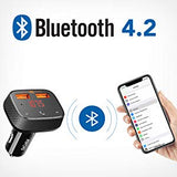 Roav SmartCharge F0 FM Transmitter - Anker | USB Support | Bluetooth Receiver | Bluetooth Music | PowerIQ Car Charger | Bluetooth 4.2 - Mukhtar Networking