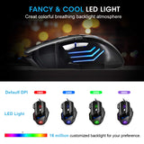 Gaming Mouse X7 | 7-Button | 5500 DPI | 16 Million Customizable RGB | Backlit - Mukhtar Networking