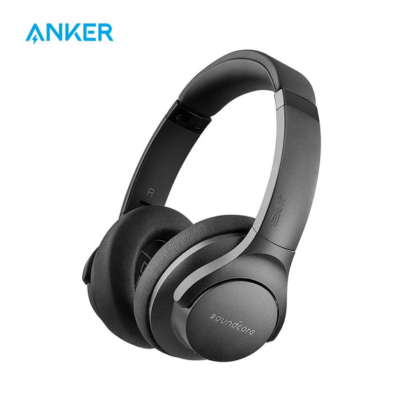 Anker SoundCore Life 2 Headphones | Active Noise Cancelling Over-Ear Wireless Headphones | 30 hour Playtime | BassUp Technology - Mukhtar Networking