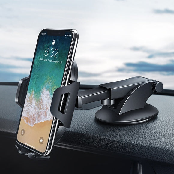 Ugreen Car Phone Holder | No Magnetic Gravity Stand | Suction Cup | Dashboard - Mukhtar Networking