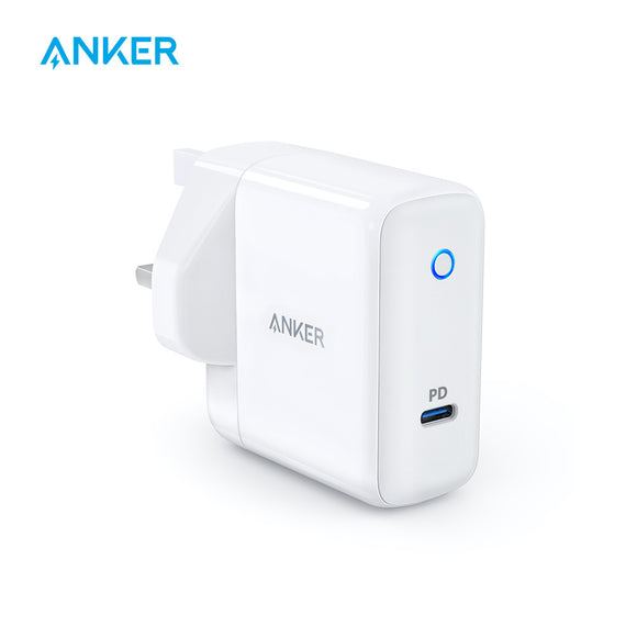 Anker PowerPort Speed 1 USB-C 30W Charger | USB-C PD | 30W Fast Charging - Mukhtar Networking