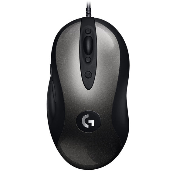 Logitech MX518 Classic Gaming Mouse | 16000 DPI | 400 IPS | Logitech Gaming Software | 8-Programmable Keys | 5 On-board Configuration Files - Mukhtar Networking