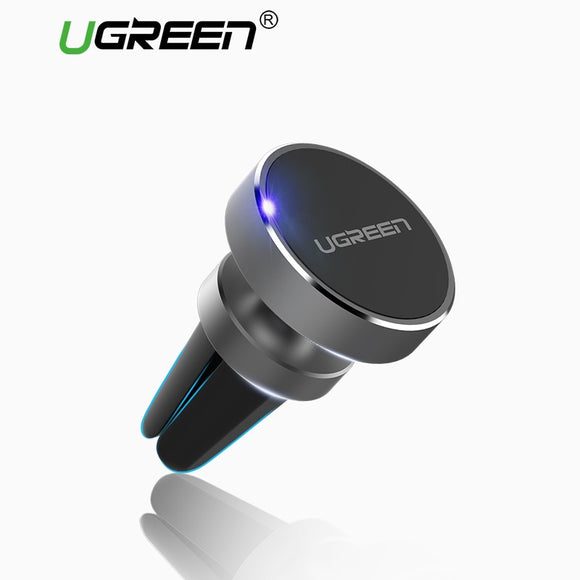 Ugreen Magnetic Phone Holder | Air Vent Mount Car Holder | Strong Magnetic Attachment | Easy to Use - Mukhtar Networking