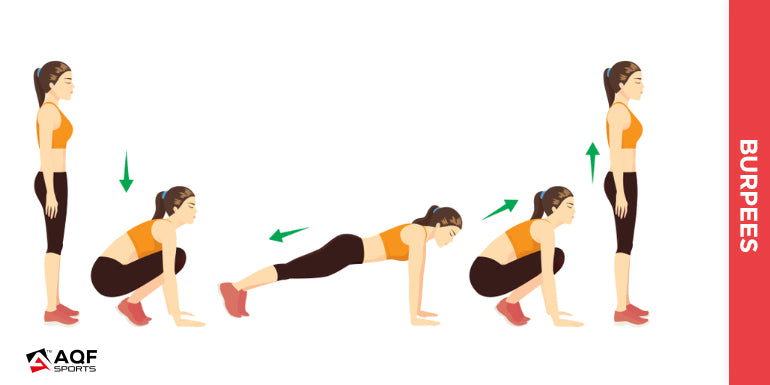 Burpees illustration