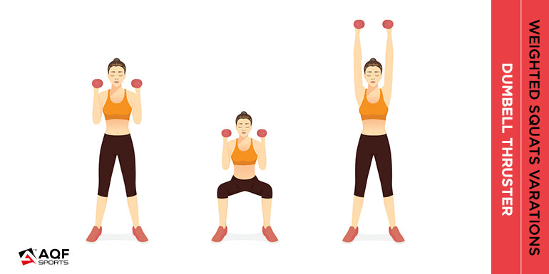 dumbell-thruster-illustration