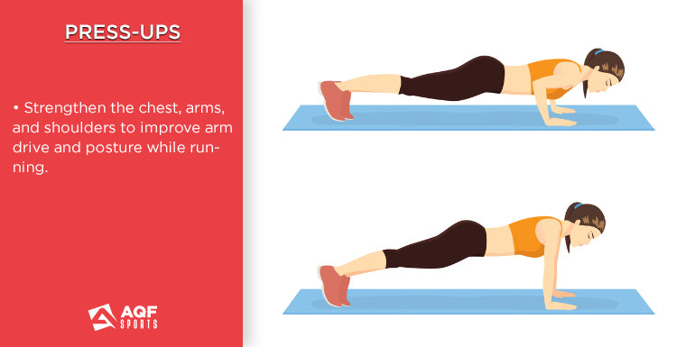 how to do press ups in strength training & it's benefits for runners