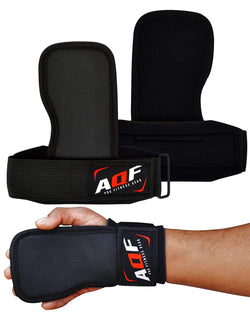 AQF Weight Lifting Gym Handgrip Wrist Support