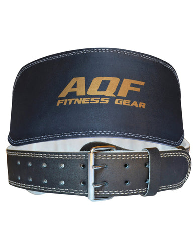 AQF 6 Inch Split Leather Training Belt