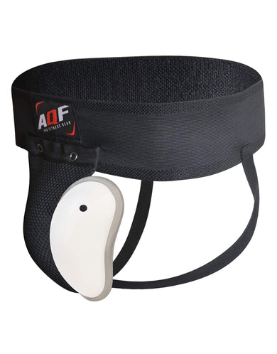 AQF Groin Guard with Cup Black