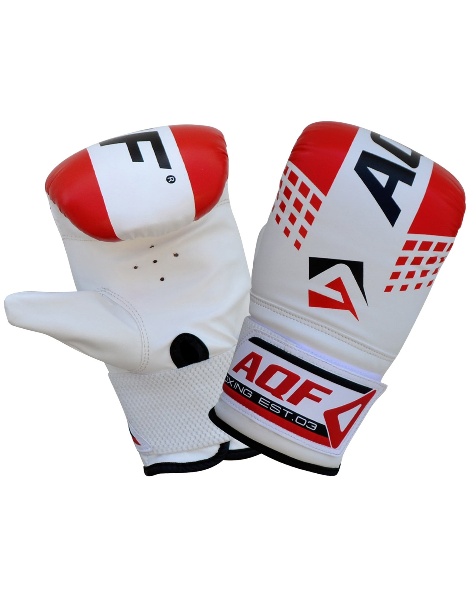 AQF Boxing Bag Gloves Red