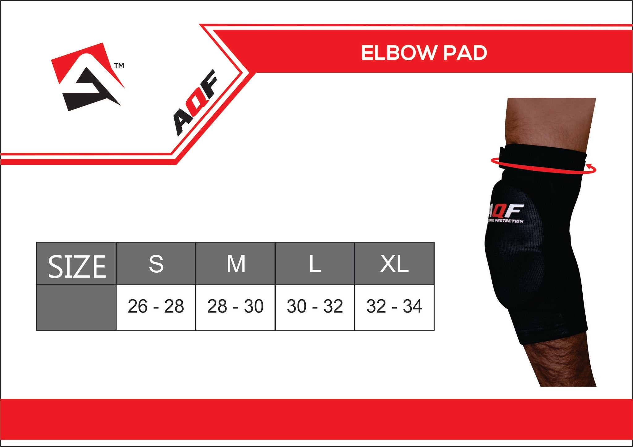AQF Elbow Support Pads