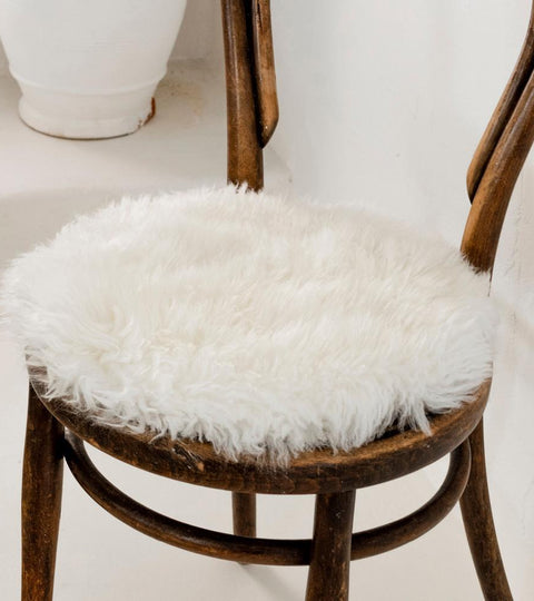 How to Best Care for the Sheepskin Pads on your Chairs?