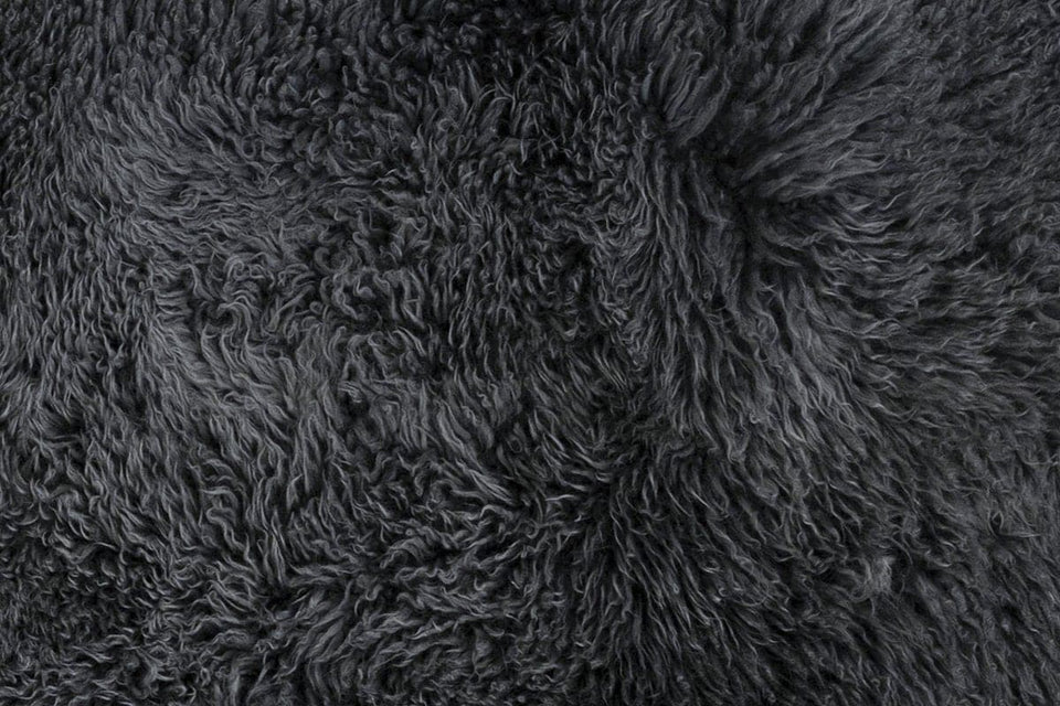 Sheepskin wool closeup