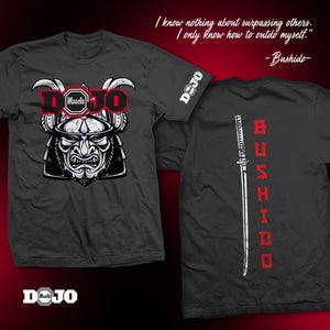 Dojo Muscle Bushido V2 Shirt 2019 Limited Edition - PRE-ORDER