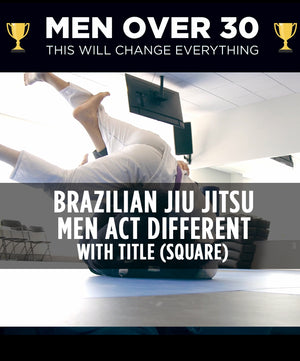 Brazilian Jiu Jitsu – Men Act Different (Square) - Dojo Muscle
