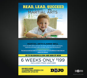 Back To School Read, Lead, Succeed Trial Pass 1 - Dojo Muscle