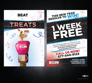 New Years - Beat The Treats 2 - Dojo Muscle