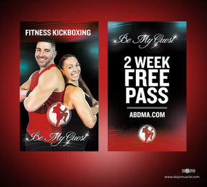 Be My Guest Passes - ABD - Dojo Muscle
