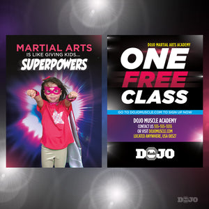 Back To School Superpowers Trial Pass 1 - Dojo Muscle