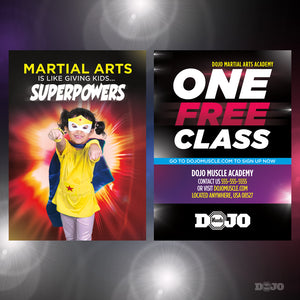 Back To School Superpowers Trial Pass 2 - Dojo Muscle