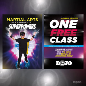 Back To School Superpowers Trial Pass 3 - Dojo Muscle
