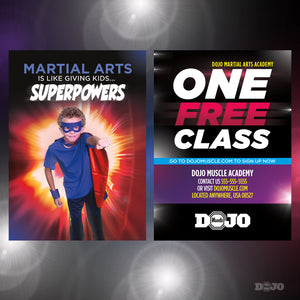 Back To School Superpowers Trial Pass 4 - Dojo Muscle