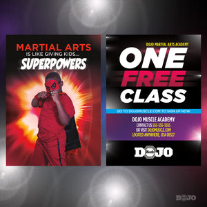 Back To School Superpowers Trial Pass 5 - Dojo Muscle