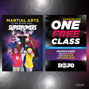 Back To School Superpowers Trial Pass 6 - Dojo Muscle