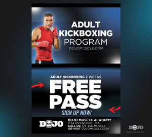 Kickboxing Trial Pass 1c - Dojo Muscle