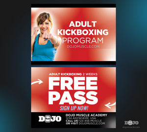 Kickboxing Trial Pass 1b - Dojo Muscle