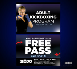 Kickboxing Trial Pass 1a - Dojo Muscle