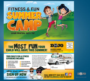 Fitness and Fun Summer Camp EDDM Proof