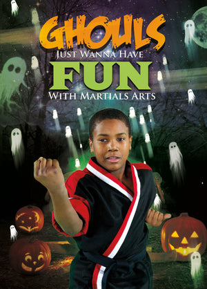 Ghouls Just Want to Have Fun Halloween Card 1c