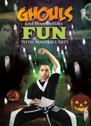 Ghouls Just Want to Have Fun Halloween Card 1a - Dojo Muscle