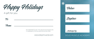 Holiday Gift Certificate - Elf Kicks - Dojo Muscle