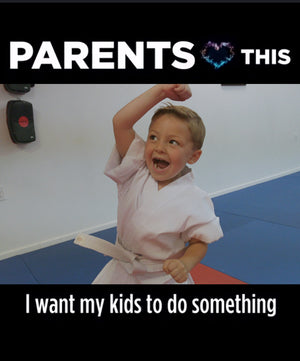 Kids - Improve Life (Square) - Dojo Muscle