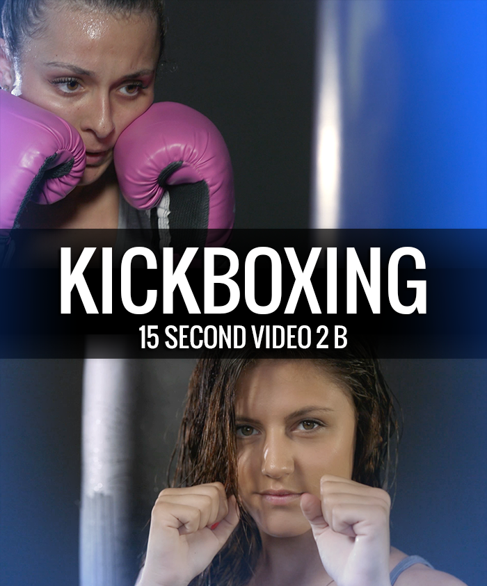 Fitness Kickboxing Video 15 Second 2 b