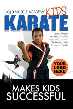 Kids Karate- Success Postcard