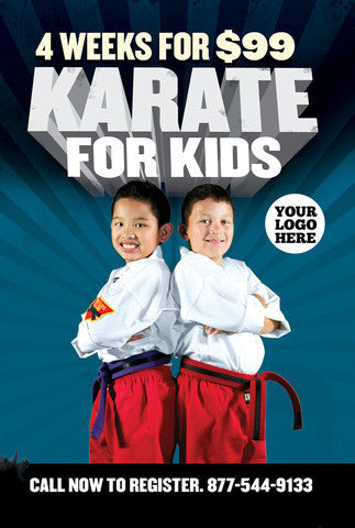 Kids Karate- Special Offer Flyer