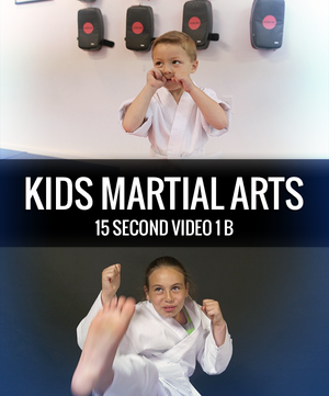 Kids Martial Arts Video 15 Second 1 b - Dojo Muscle