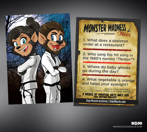 Monster Madness Trivia Cards 2