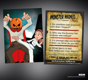 Monster Madness Trivia Cards 4