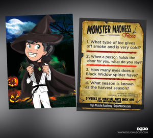 Monster Madness Trivia Cards 5
