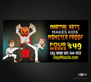 Monster Proof Banner 4 x 8