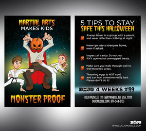 Monster Proof - Tips Back - Dojo Muscle